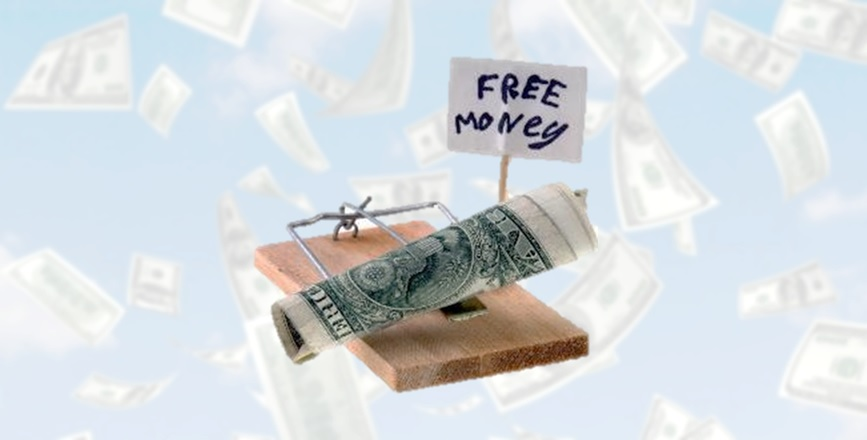Куда нельзя вкладывать деньги в интернете, халява